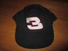 Vintage Sports Image DALE EARNHARDT No. 3 EARNHARDT (Adjustable Snap Back) Cap