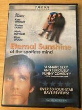 Eternal Sunshine of the Spotless Mind (Dvd, 2004, Widescreen) Jim Carry