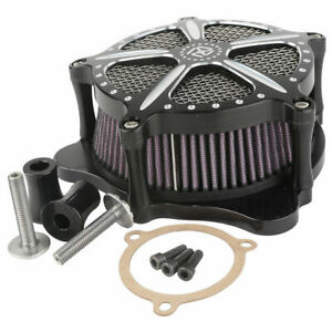 Contrast Cut Speed 5 Air Cleaner Luftfilter Fit For Harley Street Electra Glide