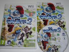 Los Pitufos 2 Nintendo Wii Juego Completo Probado PAL UK