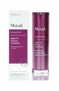 Murad Night Fix Enzyme Treatment 30 ml / 1.0 fl oz - NEW Fresh RETAIL BOX