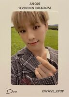 [DINO] AN ODE SEVENTEEN 3RD ALBUM [HOPE VERSION] - 1P OFFICIAL PHOTO CARD ONLY