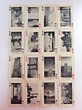 Vintage Collectible Manitoba Girl &Horse Remembrance History Photo Playing Cards