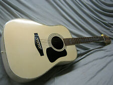 80's CONCORDE STEEL STRING - PEARL WHITE FINISH & VINE INLAYS