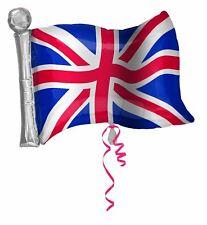 Great Britain Flag Foil Balloon GB Royal Wedding Street Party Decoration