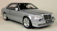 Otto Models 1/18 Scale - Mercedes Benz C124 AMG E36 Silver Resin Model Car