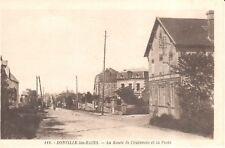 Carte Postale - (50) Manche - CPA - Donville-les-Bains - La route de Coutances
