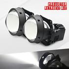 2 x 3.0 Inch Bi-LED Projector - Retrofit 9005 LED Super Brightness High/Low Beam