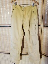 Obermeyer YELLOW mustard  Ski Pants MENS