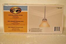 NEW IN BOX Hampton Bay 122157 Nove 1-Light Brushed Nickel Mini Pendant Fixture