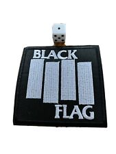 Black Flag Iron-on Embroidered Hard Rock Band Patches