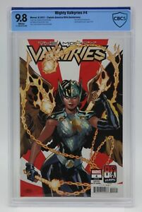 Mighty Valkyries (2021) #4 Captain America 80th Anniversary CBCS Blue Lbl WH Pgs