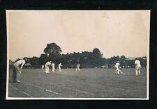 Gloucestershire BRISTOL Fishponds Alexandra Park Cricket MAtch c1950s? RP PPC