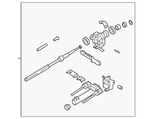 Genuine GM Steering Column 10391402