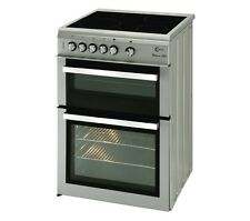 FLAVEL Milano ML61CDS Electric Ceramic Cooker - Silver & Chrome - Currys