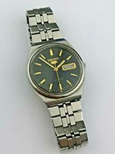 Working Seiko 5 1985 6309 8960 Vintage Automatic Watch to Restore (B102)