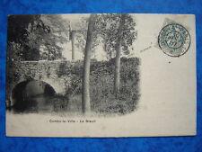 COMBS-la-VILLE  :  Le Breuil.....VO.1907.