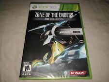 Zone of the Enders HD Collection (Microsoft Xbox 360, 2012) BRAND NEW SEALED
