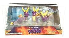 "Spyro Trilogy Totaku Collection 3 Figures 2.5"" N35 New"