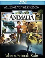 ANIMALIA (Blu-ray Disc, 2008, Widescreen) PBS KIDS ~ BRAND NEW