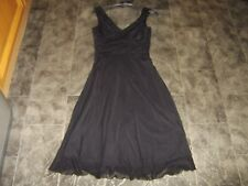 Next Ladies Lined, calf Length Dress, Size 8,