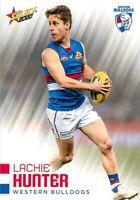 ✺New✺ 2020 WESTERN BULLDOGS AFL Card LACHIE HUNTER Footy Stars