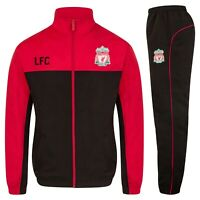 Liverpool FC Official Football Gift Boys Jacket & Pants Tracksuit Set