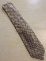 "Euc Canali Shiny Fine Geometric Silk Tie Men's Necktie made in Italy 58"" 3.75"""