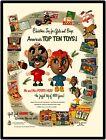 Hasbro Mr.  Mrs. Potato Head Toy Vintage Look 9  x 12   Repro Aluminum Sign