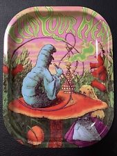 """Rolling Tray """"Feed Your Head"""" 5.5"""" x 7"""