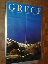 Affiche GRECE N°41 12/1967 Santorini poster vintage  Photo Lambros Santorin