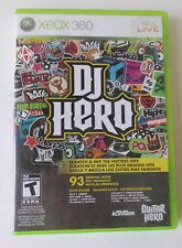 DJ Hero (Microsoft Xbox 360, 2009) (Game only)