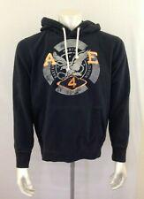 American Eagle Hoodie Men's Athletic Fit Blue Long Sleeve Hooded Sweatshirt Sz M
