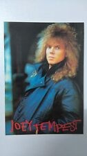 Joey Tempest Europe group vintage music postcard POST CARD