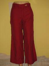 DIESEL Women's Red Trusers 3/4 Legs Shorts Size 30 (L)