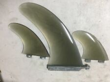 """brand new 10"""" fiberglass fin set for SUP paddleboards long Boards"""
