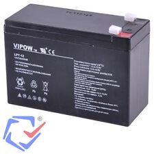 Batería de gel 12V 7Ah UPS Acumulador sin mantenimiento Pila recargable AGM