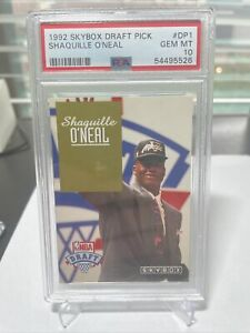 Shaquille Shaq O'Neal ONeal 1992/93 Skybox NBA Draft Pick PSA 10 Rookie RC #DP1