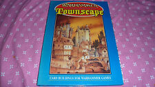 WARHAMMER - Townscape - card buildings for warhammer games - 1988 TBE