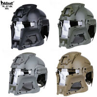 Tactical Protection Iron Warrior Retro Motorcycle Motocross Helmet Medieval Mask