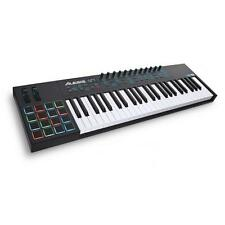 Alesis VI49 | USB/MIDI Keyboard Controller | 49 Tasten + Drum Pads + Pitch Bend