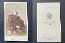 Pierson, Jules Janin vintage cdv albumen print, Gabriel-Jules Janin, né à Saint-