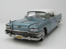 Buick '58 Limited Closed Convertible in a Stunning Blue Mist 1.18 Scale Die Cast