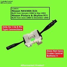 Indicator Wiper Lights Stalk Control Lever Stick Switch Nissan Navara D21 86-92
