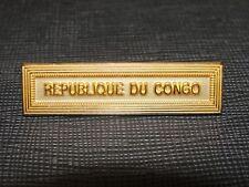 Agrafe REPUBLIQUE DU CONGO pour médaille ordonnance militaire armée Française