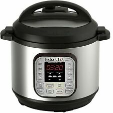 Instant Pot DUO80 8 Qt 7-in-1 Multi- Use Electric Programmable Pressure Cooker