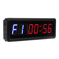 """Seesii 1.5"""" GYM Crossfit Timer Workouts Timer Stopwatch with Remote for Home Gym"""