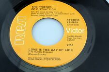 Friends of Distinction: Love is the Way of Life / Jenny Wants to Know [Unplayed]