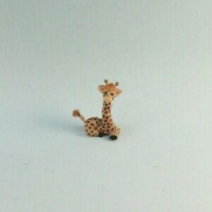 OOAK~Giraffe~Miniature Toy~Handmade~Clay~Artist Doll~Baby~Dollhouse~Cheryl Brown