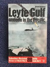 LEYTE GULF Ballantine's Illustrated History of WWII Battle Book # 11